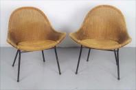 Loydd Loom stoelen geproduceerd voor de Holland America Line